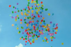 balloons in he sky- postpartum depression